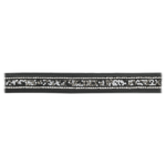 Belt, Leather & Crystal Beads