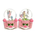 Fairy with Unicorn Water Globe
