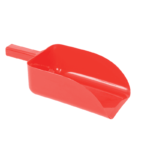 Show Time Feed Scoop, Plastic Square