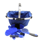 Show Time Grooming Basket with Brushes