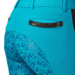 Equileisure Silicone Flower Breeches