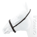 Capriole Backed Cavesson Noseband
