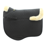Deluxe Dressage Numnah with Sheepskin