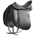 DT Butterfly Claudia Comfort Dressage Saddle, Double Leather