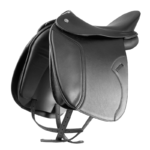 DT Butterfly Utah Comfort Dressage Saddle, Double Leather