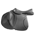 DT Butterfly Claudia Jumping Saddle, Double Leather