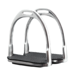 Stirrup Irons, Knife Edge Nickel Plated