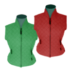 Equileisure Waist Coat with Curve Neck