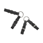 Leather Rein Connectors with Rings