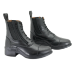 Equistride Step Up, Lace & Zip Jodhpur Boot