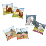 Horse Design Cushion