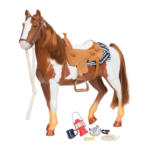 Our Generation Appaloosa Trail Riding Horse