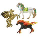Safari Mythical Horse Models
