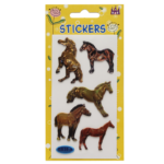 Horse Stickers, Metallic