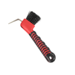 Show Time Soft Touch Hoof Pick with Brush