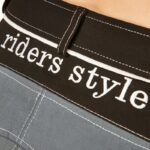 Equileisure Woven Grey & Black Rider Style Breeches
