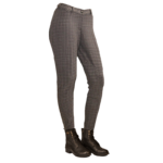 Equileisure Woven Black & Grey Breeches